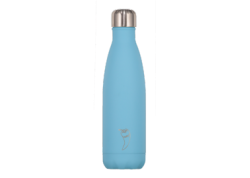 Chillys Bottle Blue Pastel 500ml