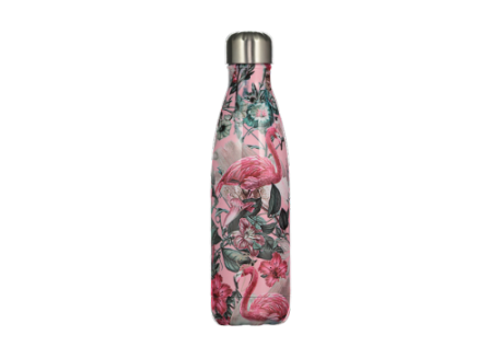Chillys Bottle Flamingo 500ml Special Edition