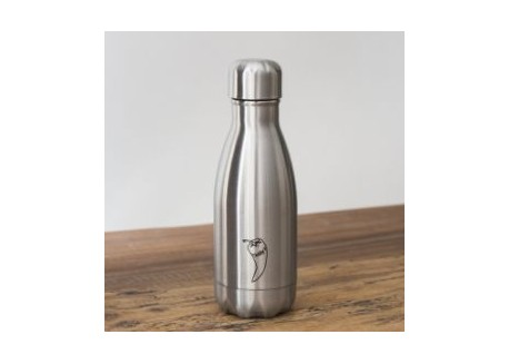 Chillys Bottle Original Silver 260ml