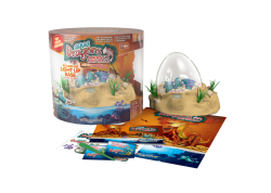 Ενυδρείο Aqua Dragons Jurassic Time Travel Eggspedition με Φωτάκι LED