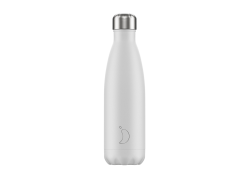 Chillys Bottle White Matte 500ml