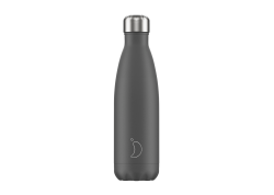 Chillys Bottle Grey Matte 500ml
