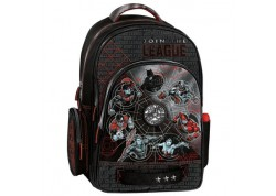 Justice League Organized BackPack W/Mesh Backing