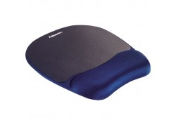 Στήριγμα καρπού Fellowes Memory Foam Mousepad Wrist Support 9172801
