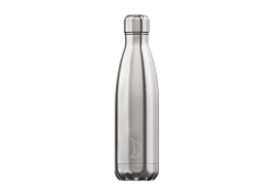 Chillys Bottle Original Silver 500ml