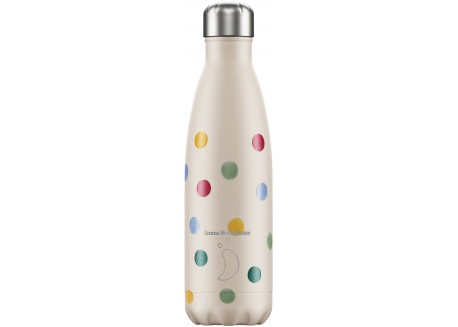 Chillys Bottle Emma Bridgewater Polka 500ml