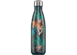 Chillys Bottle TROPICAL LEOPARD 500ML