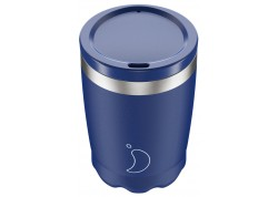Chillys Coffee Cup Blue Matte 340ml