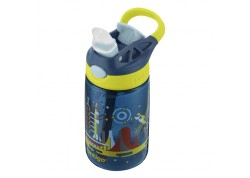 Παιδικό Παγούρι Contigo Gizmo Flip Nautical Blue With Space 420ml