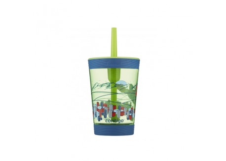 Παιδικό Ποτήρι Contigo Spillproof Kids Tumbler Granny Smith 420ml