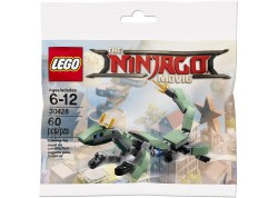 Lego 30428 - The Ninjago Movie Green Ninja Mech Dragon Ηλικία 6+