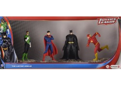Schleich - Justice League Set Batman, Superman, Green Lantern & The Flash