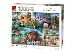 Παζλ Animal World 1000 Τεμάχια Collage Collection