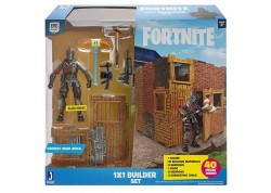 GIOCHI PREZIOSI Fortnite 1X1 Builder Set Με Φιγούρα Δράσης 10Εκ.