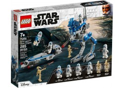 Τουβλάκια Lego 75280 Star Wars 501st Legion Clone Troopers Ηλικία 7+