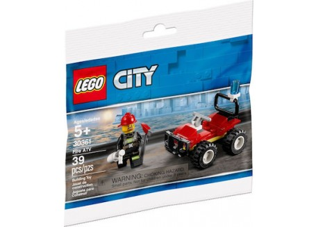 Lego City Fire Quad Ηλικία 5+ 30361
